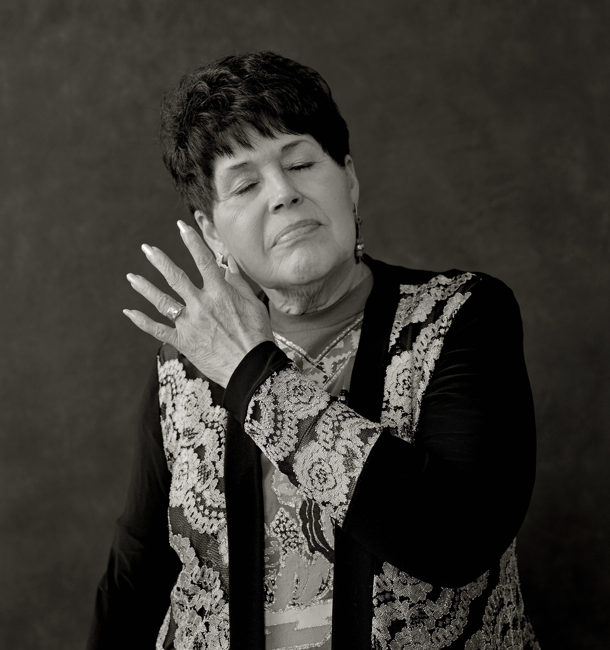 Portrait of Estella Kierce – Native American – Coahuiltecan