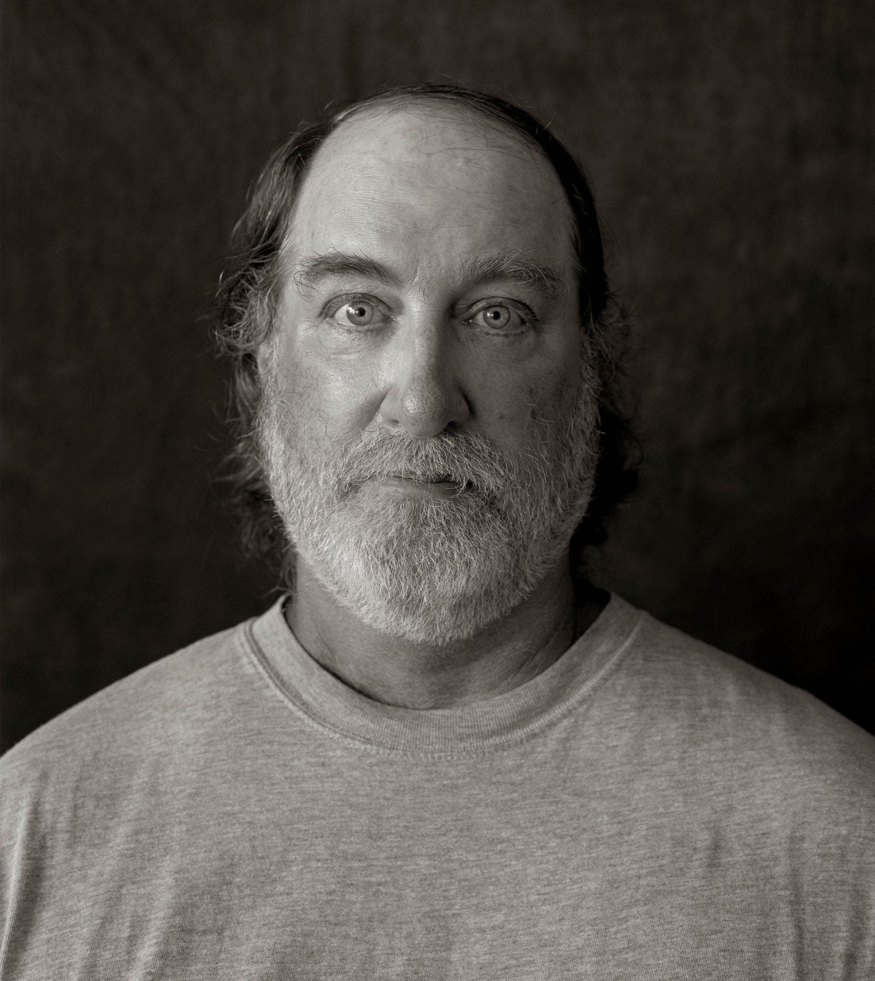 Portrait of Steve Siggins – Head Stone Mason