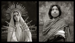 Photographs of the Virgin Mary and Woman